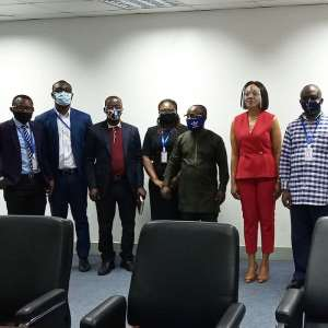 IHRC Ghana Pays A Courtesy Call On The Electoral Commission
