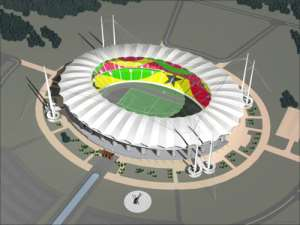 Chinese contractors in for  stadia job
