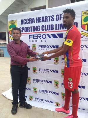 Kwame Kizito wins FERO player of the week award after stellar performance against Bolga All Stars