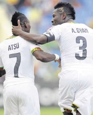 Newcastle United star Christian Atsu hails Asamoah Gyan as 'blessing' to Ghana