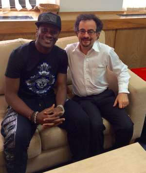 Asamoah Gyan scores high marks from British High Commissioner