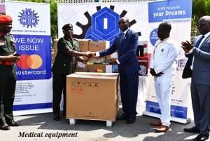 NIB Donates Medical Equipment To Ghana Army