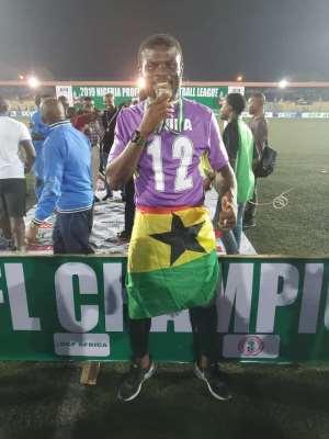 Fatawu Dauda Express Delight After Winning League With Enyimba Fc