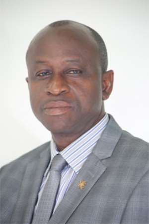 Member of Parliament, Hon. Mathias Kwame Ntow