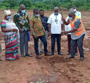 Asuogyaman DCE Cut Sod For Fish Processing Factory