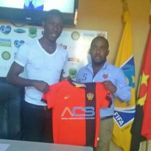 Former Hearts goalie Kingsley Kissi joins Angolan side Desportivo Huila