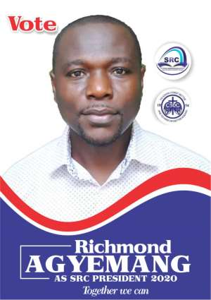 CSUC SRC Elections: Richmond Agyemang For Presidency