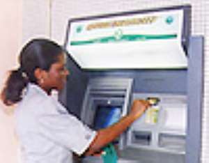 ATM customers of GCB disappointed