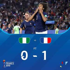 Women's WC: France 1-0 Nigeria – Host Nation Sees Off Super Falcons To Keep 100% Record