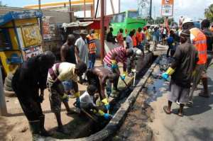 Catholic Church Adopts Monthly Clean Up Exercises To Fight Filth In Adjei-Kotoku
