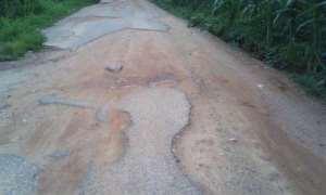 The Terrible State Of Accra To Koforidua Road