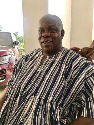 E/R: Business Mogul George Owusu To Be Enstooled Chief Of Kwahu Pepease