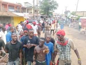 [Photos] Nigerian Shops At Suame Magazine Ransacked