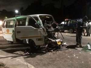 Car Crash Injures Five At Oforikrom