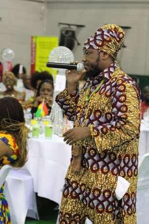 Blakk Rasta Shocks Ghana Community In London
