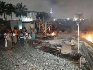 One Killed In Achimota Railway Slum Clashes