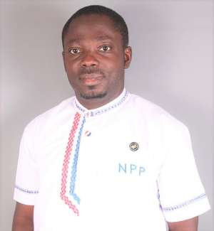 NPP Primaries: Eric Amofa Pledges Support For MP Asante Boateng