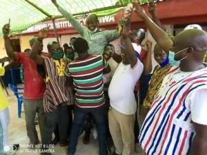 NPP Primaries:  Akwasi Darko Boateng Retires Incumbent MP In Bosome Fraho Constituency