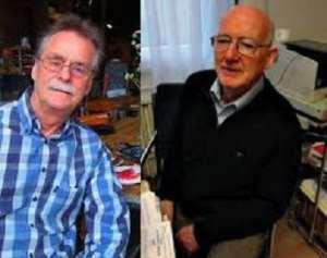 Dutch scientist Johan Van Dongen and the German medical doctor, Wolff Geisler