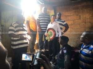 Mahama, Zanetor Visit Adabraka Flood Victims