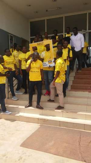 A/R: MTN Climax 21 Days of Y'ello Care With Youth Empowerment