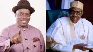 Victor Giadom and Muhammadu Buhari