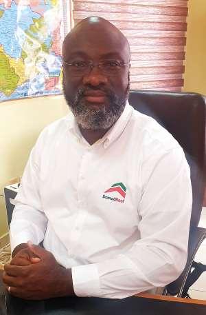 Managing Director of Domod Roof Ltd Mr Fred Kwofie