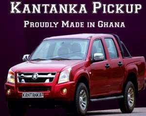 Kantanka's new pickup on show