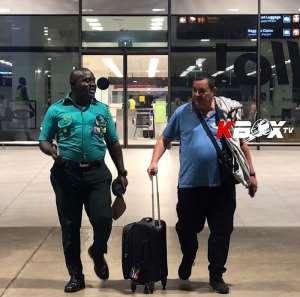 Referee Cross Arrives in Ghana for WBO Global Super Bantamweight Championship