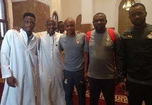 AFCON 2019: Black Stars Players Worship In Ismailia Ahead Of Cameroon Encounter [PHOTOS]