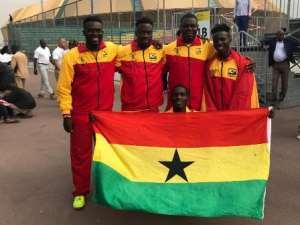 Bright start for Ghana's Golden Rackets at 2019 Davis Cup