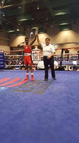 Joseph Awinongya Jr  wins Gold in USA Junior Amateur Boxing