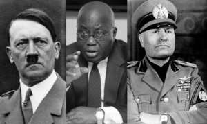 Nana Akufo Addo now follows ideologies of dictators like Hitler and Mussolini