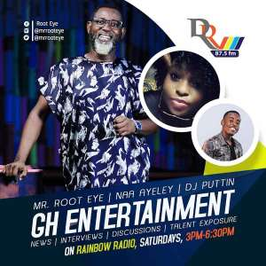 Root Eye Takes Over As Host Of GH Entertainment On Rainbow Radio