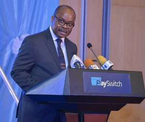 Dr, Ernest Addison, Governor of the Bank of Ghana