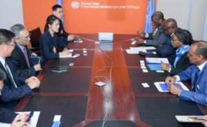 Economic Commission For Africa Meets China Dev't Commission On Implementation Of Belt and Road Initiative