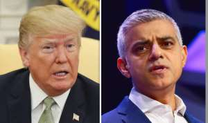 U.S. President Donald J. Trump          &       Mayor of London Sadiq Kahn
