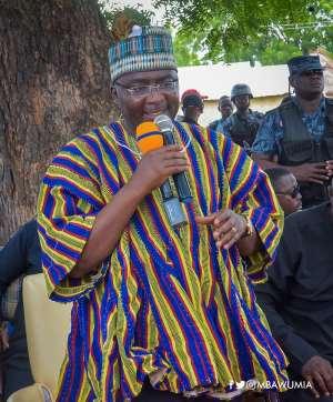 Bawumia Storms Saboba, Chereponi To Vibe Peace