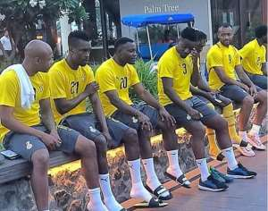 AFCON 2019: Black Stars Completes First Training Session In Dubai With 23 Players [PHOTOS]