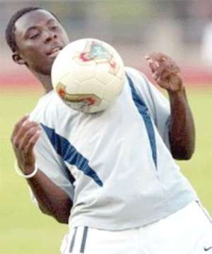 The next Pele, or the next Nii Lamptey?