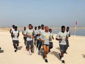 AFCON 2019: Black Stars Resumes Training In UAE With 24 Players [PHOTOS + VIDEOS]