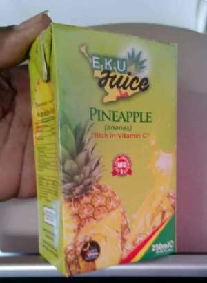 COVID 19: Ekumfi Juice made from pineapple & ginger boost immune System