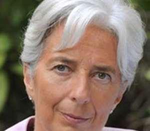 Managing Director of the IMF, Christine Lagarde