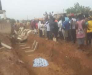 Ashorman Estate Wall Collapse Kills Three