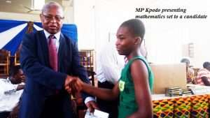 Ho MP Advises BECE Candidates To Be Disciplined