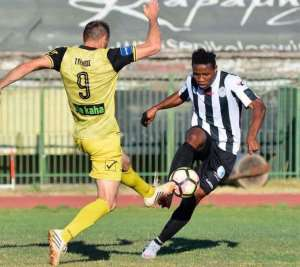 Ghanaian midfielder Albert Bruce wants to end season on high with Greek side Panegialios