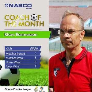 WAFA coach Klavs Rasmussen mocks Hearts, says team could have scored 10