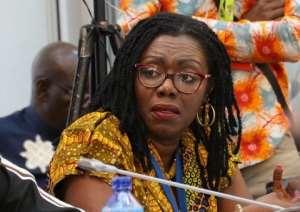 Ursula Owusu-Ekuful, Communications Minister