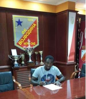 Ex-Hearts of Oak defender Owusu Bempah signs three-year deal with Serbian side FK Vojvodina