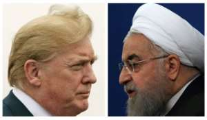 US President Donald Trump and Iran President Hassan Rouhani